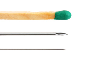 Size of Acupuncture Needle
