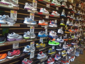 Running shoes at On On Tri