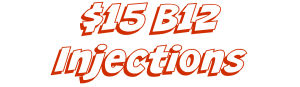red b12 injections banner